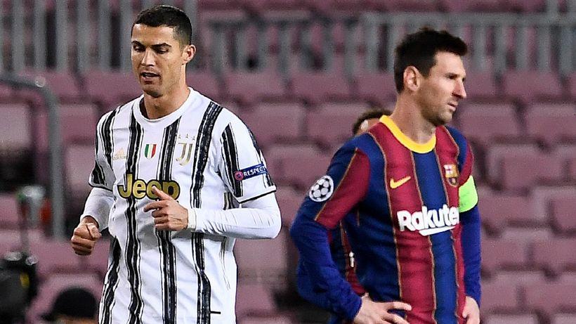 Gioia Juve: Ronaldo stravince su Messi, Buffon si prende la rivincita