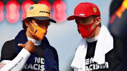 F1, Ferrari: già duello tra Leclerc e Sainz. Le parole di Binotto