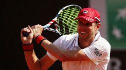 "Tennis, ""solo"" una multa per Querrey"