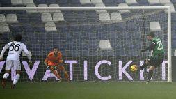 Sassuolo-Benevento 1-0: Berardi segna, Consigli para tutto