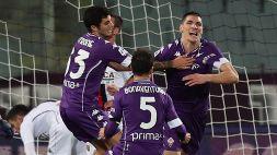 Serie A: Fiorentina-Genoa 1-1, le foto