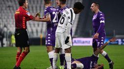 Serie A: Juventus-Fiorentina 0-3, le foto