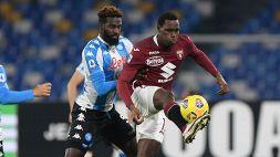 Serie A: Napoli-Torino 1-1, le foto
