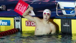 Nuoto, nulla da fare per Sun Yang, di nuovo squalificato