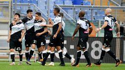 Udinese-Benevento, le formazioni ufficiali