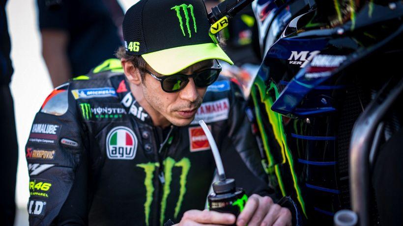 """MotoGp, Valentino Rossi e la crisi: """"Lavoro su me stesso"""""""