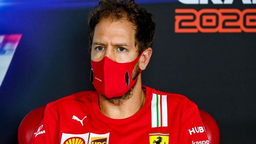 F1, Ferrari: Vettel non nasconde l'emozione, Leclerc deluso