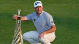 Golf: Race to Dubai, tris di Lee Westwood