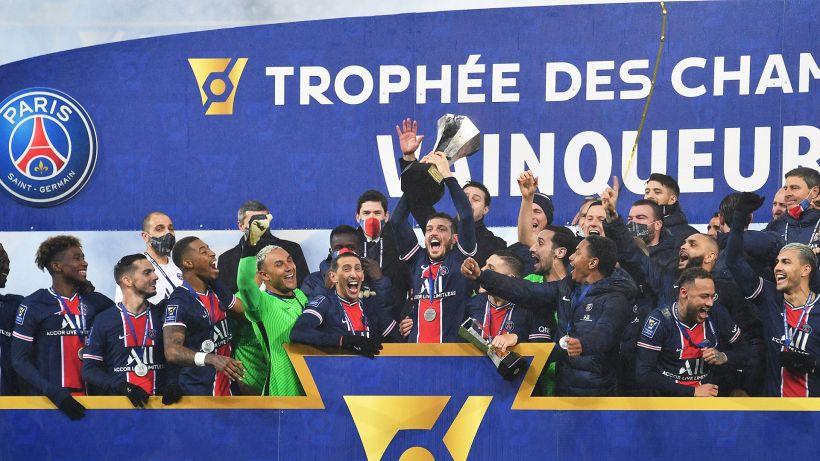 Al PSG il primo trofeo del 2021: Marsiglia k.o nella Supercoppa