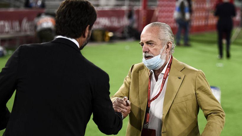 Retroscena De Laurentiis: perché aveva chiesto il rinvio di Juventus-Napoli