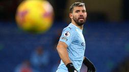 """Manchester City, rimane nebuloso il futuro del """"Kun"""" Aguero"""