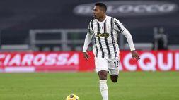 Juventus: Alex Sandro positivo al Covid-19, è già in isolamento