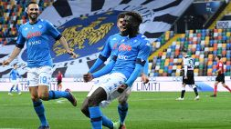 Udinese-Napoli, le parole di Tiemoué Bakayoko