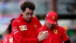 """F1, Binotto: """"A Leclerc mancano almeno 40 punti in classifica"""""""