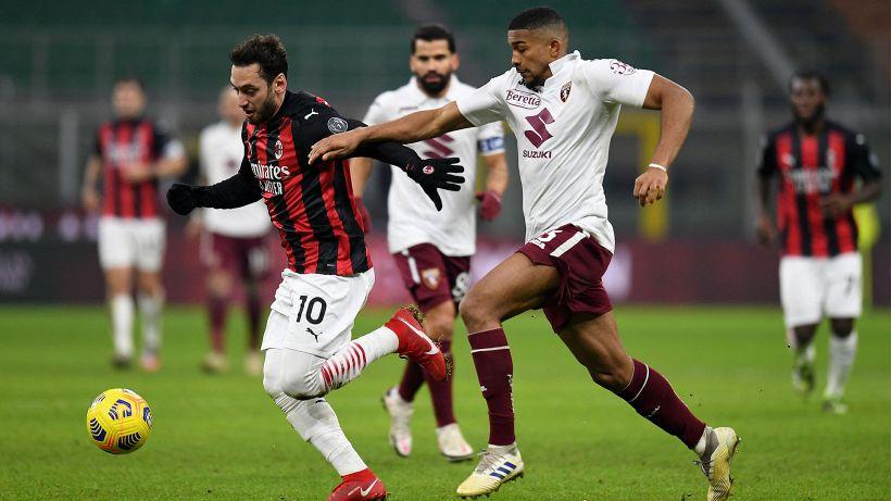 Mercato Milan: incontro per rinnovo Calhanoglu