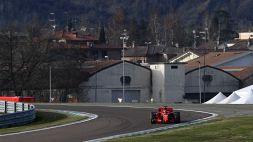 Le foto dei primi test di Carlos Sainz in Ferrari