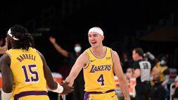 NBA, arrestato Caruso dei LA Lakers