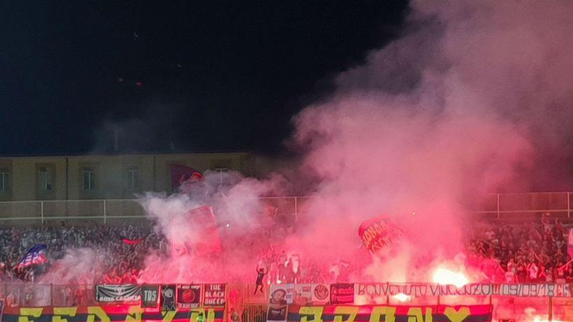 Serie C, Casertana: rubate maglie e scarpe ai giocatori