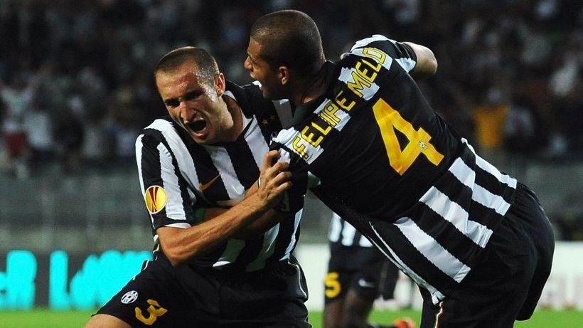 Juventus, nuova bordata di Felipe Melo a Giorgio Chiellini