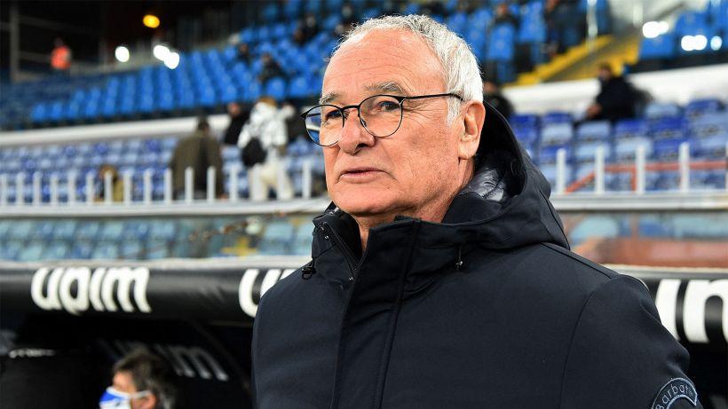 """Sampdoria, Ranieri: """"Siamo stati anche fortunati, obiettivo 40 punti"""""""