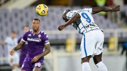 Coppa Italia: Fiorentina-Inter 1-2, le foto