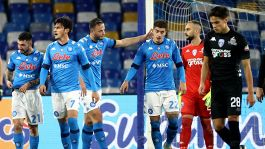 Coppa Italia: Napoli-Empoli 3-2, le foto