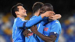 Coppa Italia: Napoli-Spezia 4-2, le foto