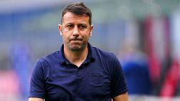 Lazio-Parma, la carica di Roberto D'Aversa