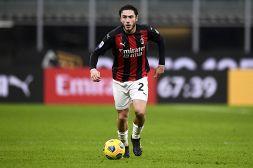 Inter-Milan, Davide Calabria si infiamma per il Derby di Coppa Italia