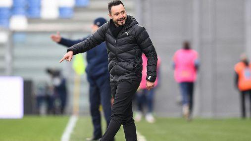 Lazio-Sassuolo, la conferenza stampa di Roberto De Zerbi
