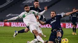 Sassuolo-Parma, le formazioni ufficiali