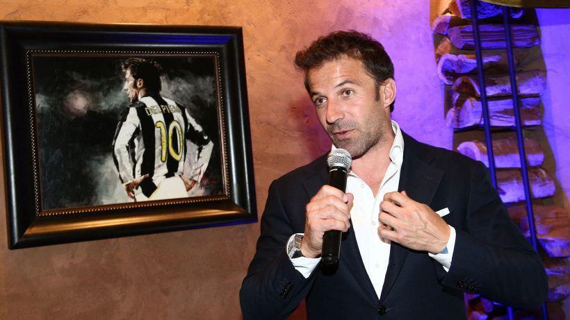 Inter-Juventus, il commento della leggenda Alex Del Piero