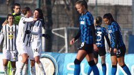 Inter Femminile-Juventus Women 0-3: il primo Derby d'Italia di giornata è bianconero