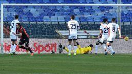 Destro manda nel baratro il Cagliari: 1-0 Genoa