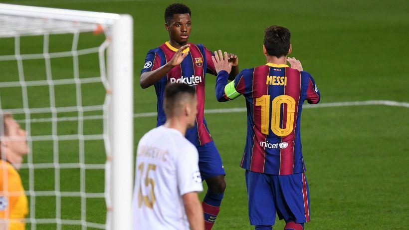 """Eto'o: """"L'erede di Messi? Ansu Fati"""""""