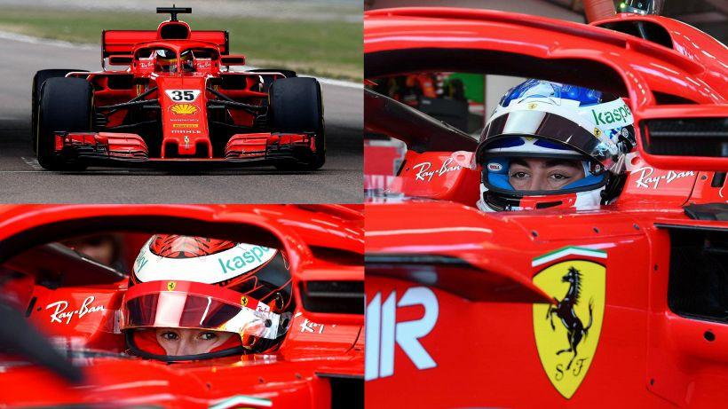 Ferrari, test Fiorano day 1: un Alesi torna in rosso