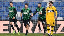 Sassuolo-Parma 1-1, Djuricic all'ultimo non trema dal dischetto