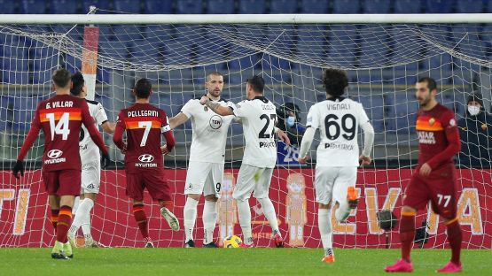 Coppa Italia: Roma-Spezia: sconfitta a tavolino per la Roma