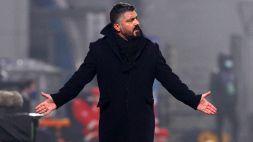 Frasi blasfeme in Crotone-Napoli: Gattuso multato di 3000 euro