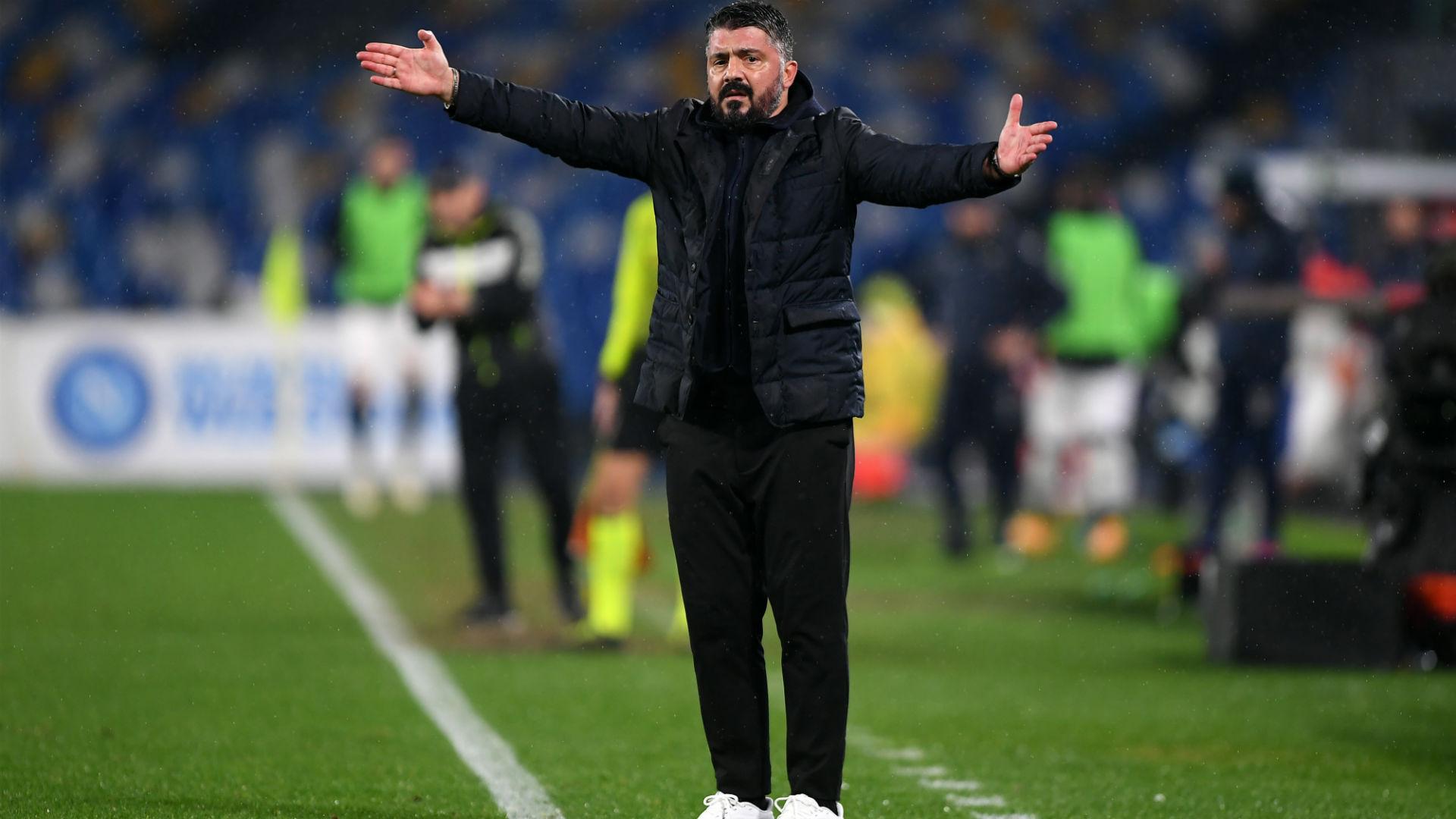"""Gattuso: """"Ci teniamo la vittoria, subito qualche ripartenza di troppo"""" -  Virgilio Sport"""