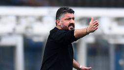 Gattuso salva la panchina ed esplode: sfogo in diretta tv