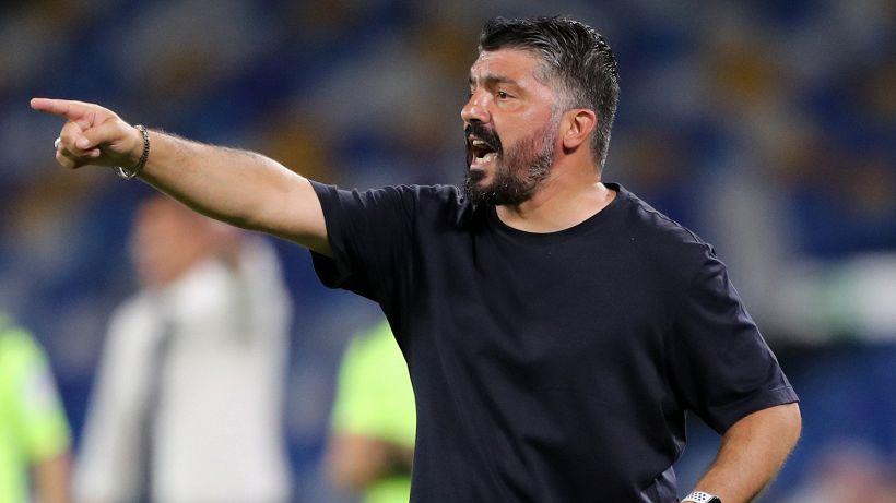 """Napoli, Gattuso: """"Non avete gli attributi"""""""