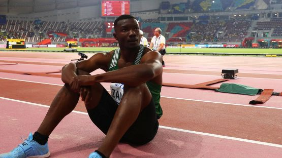 Atletica, Zango fa il record del Mondo nel salto triplo