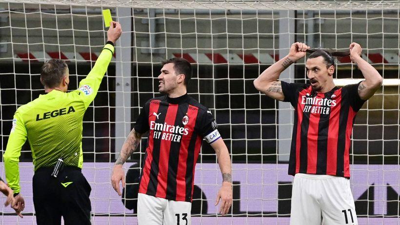 Inter-Milan, espulso Ibrahimovic: secondo giallo dopo fallo su Kolarov