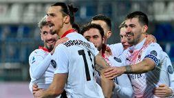 Ibrahimovic implacabile, il Milan torna in testa da solo