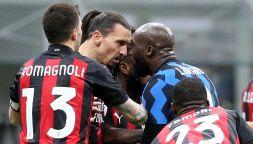 Inter-Milan, lite Ibra-Lukaku: voodoo, rivalità e il precedente