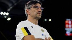 """Roma-Verona, Juric: """"Quando regali è giusto perdere"""""""