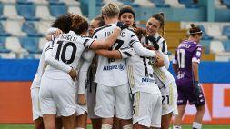 Supercoppa femminile alla Juventus Women