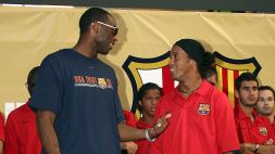 "Quando Ronaldinho presentò Messi a Bryant: ""Diventerà il più grande di tutti"""
