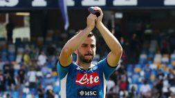 Serie A, Napoli: distrazione muscolare per Manolas